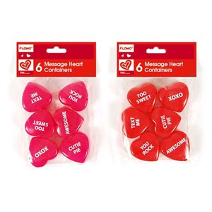 Plastic Heart Shaped Containers