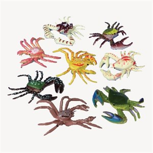 Plastic Mini Crabs
