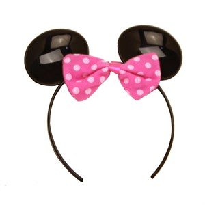 Plastic Minnie Mouse Ears