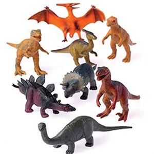 Plastic Toy Dinosaurs - 3 1/2 Inches