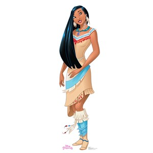 Pocahontas Lifesized Standup