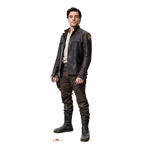Poe Star Wars 8 The Last Jedi Cardboard Cutout