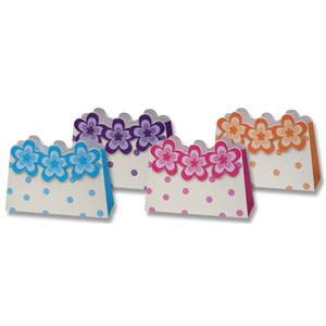 Polka Dots And Flowers Gift Bags