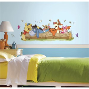 Pooh And Friends Outdoor Fun Giant Decal