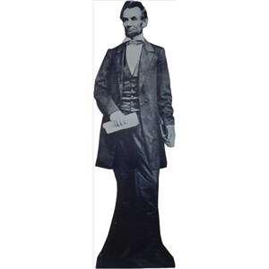 President Abraham Lincoln Lifesized Standup