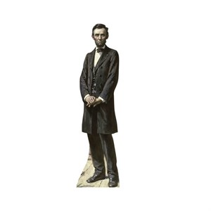 President Lincoln The Gettysburg Address Cardboard Cutout
