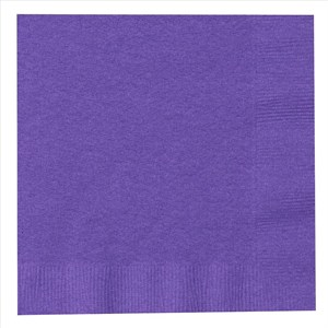 Paper Lunch Napkins - Purple