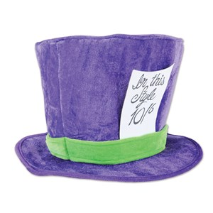 Purple Mad Hatter Hat