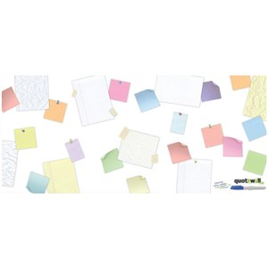 Quotewall-Scattered Peel And Stick Giant Decal