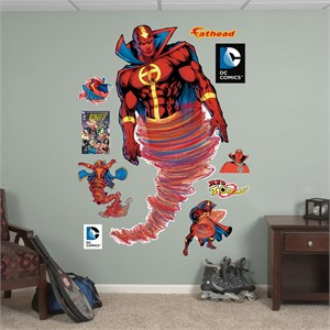 Red Tornado REALBIG Wall Decal