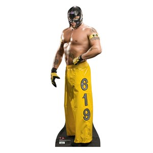 Rey Mysterio Yellow Pants-WWE Lifesized Standup