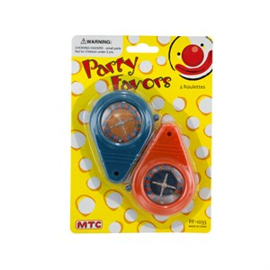 Roulette Game Party Favors