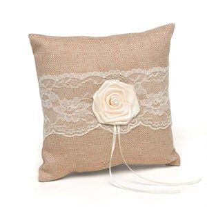 Rustic Country Ring Pillow
