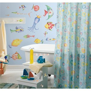 Sea Creatures Peel And Stick Decal