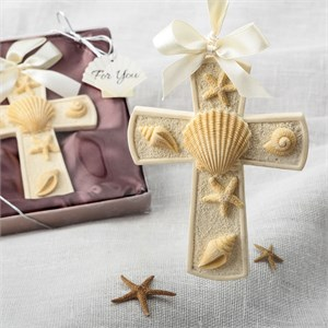 Sea Themed Cross Ornament
