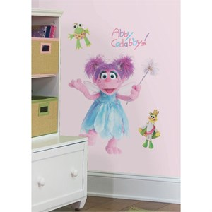 Sesame Street Abby Peel And Stick Giant Wall Decal
