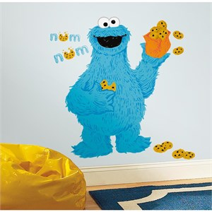 Sesame Street-C is for Cookie Monster Giant Decal