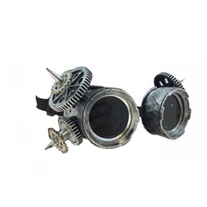 Silver Spiked Steam Punk Goggles