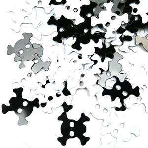 Skull And Crossbones Confetti