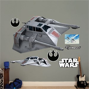 Snowspeeder REALBIG Wall Decal