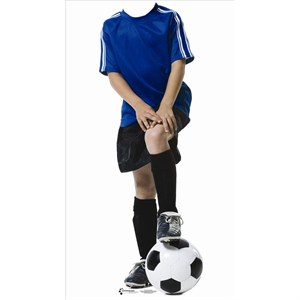 Soccer Boy Stand In-Lifesized Standup