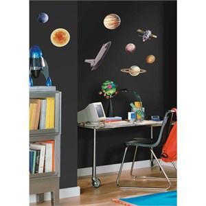 Space Travel Peel And Stick Decal
