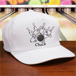 Spares And Strikes Bowling Personalized Hat
