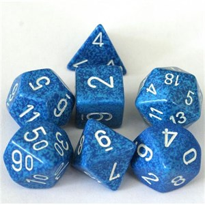 Speckled Water Polyhedral 7 Dice Set
