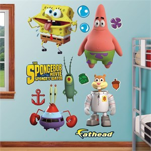 SpongeBob Movie Collection REALBIG Wall Decal