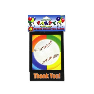 Sports-Themed Thank You Cards