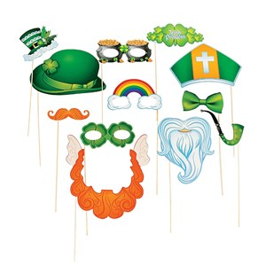 St. Patrick's Day Photo Booth Props On Sticks
