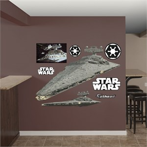 Star Destroyer REALBIG Wall Decal