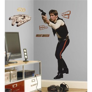 Star Wars Classic Han Solo Giant Decal