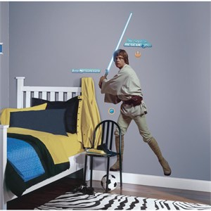 Star Wars Classic Luke Peel And Stick Giant Decal