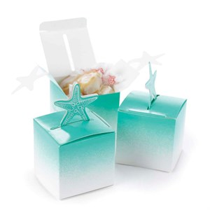 Starfish Pop-Up Favor Boxes