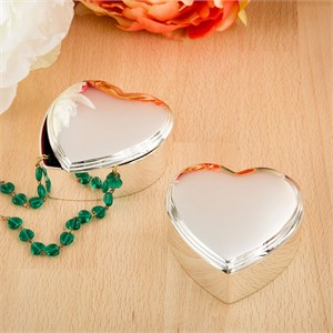 Stunning Silver Heart Box