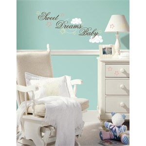 Sweet Dreams Baby Peel And Stick Decal