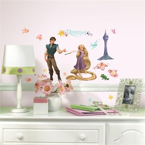 Tangled-Rapunzel Peel And Stick Wall Decal