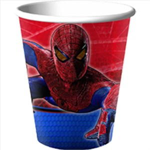 The Amazing Spider Man 9oz Cups