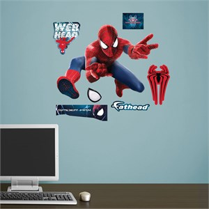 The Amazing Spider-Man 2 Mask JUNIOR Wall Decal