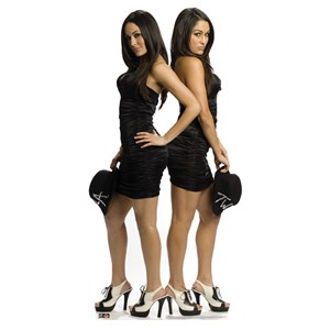 The Bella Twins-WWE Lifesized Standup