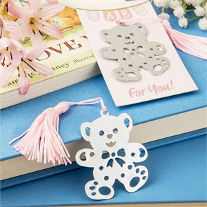 The Book Lovers Collection's Lovable Teddy Bear Design Bookmark Favors