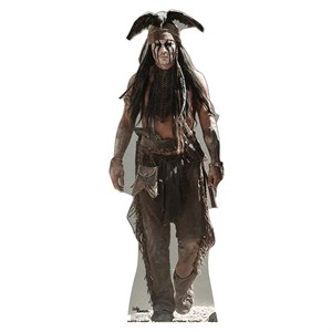 The Lone Ranger Tonto Johnny Depp Standup