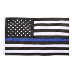 Thin Blue Line American Police Flag - 3ft x 5ft