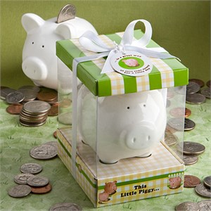 This Little Piggy Ceramic Bank