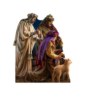 Three Wise Men Illustrated by Dona Gelsinger Cardboard Cutout