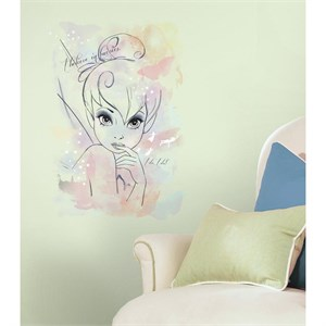 Tink I Believe in Fairies Watercolor Decal