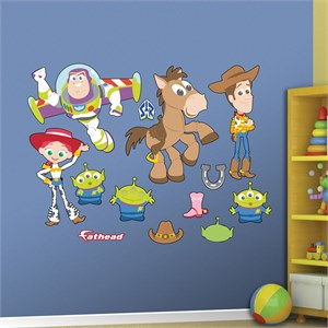 Toy Story Kids Collection REALBIG Wall Decal