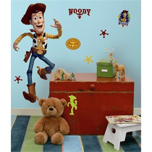 Toy Story Woody Giant Peel And Stick Wall Decal