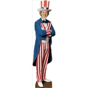 Uncle Sam Lifesized Standup